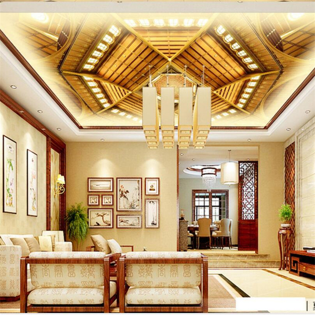 Home Design 3d Gold By Anuman: Beibehang Custom Photo Wallpaper 3d Gold Palace Three