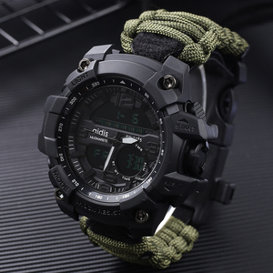 Image 1 - Addies G Shock Mens Military Watch With Compass 3Bar Waterproof Watches Digital Movement outdoor Fashion Casual Sport Watch Men
