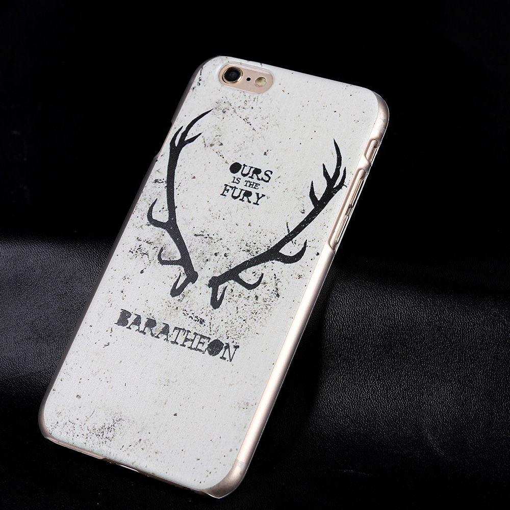 hot cartoon animal letters painted clearly cover case for apple iphone