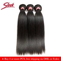 Гладкие прямые бразильские пучки волос плетение сделки человеческие волосы расширение продавцов 8 до 28 30 дюймов Remy 100% человеческие волосы С...
