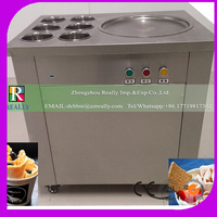 Pan Ice cream Frying Machine Yoghourt Fried Machine Fried Ice Machine