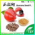 High quality herbal extract Guarana powder capsule 500mg*50pcs