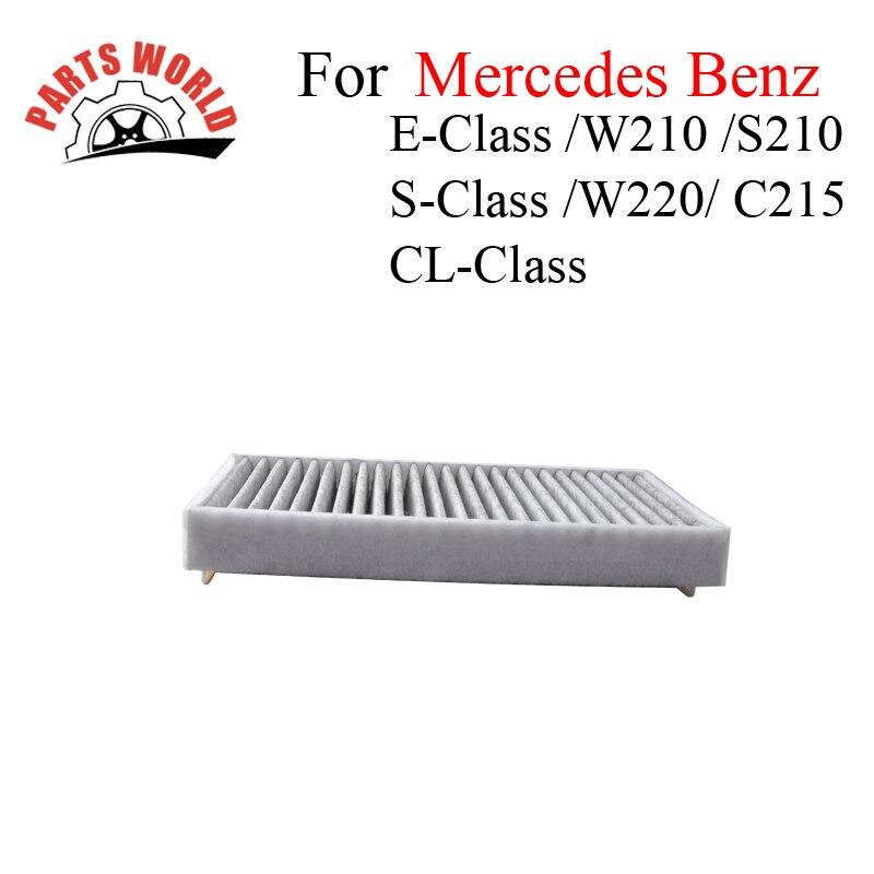 Car Parts Carbon <font><b>Cabin</b></font> <font><b>Filter</b></font> For <font><b>Mercedes</b></font> <font><b>Benz</b></font> E-Class W210 S210 S-Class W220 CL-Class C215 Auto Accessories OEM 2108301018
