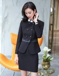 Формальные Модные женские юбочные костюмы с блейзером и пиджаком элегантные деловые комплекты одежды для работы офисная форма Стили
