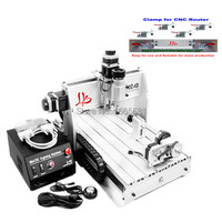 3D CNC Router 3040 Z DQ CNC Milling Machine With With Rotary Axes Ball Screw Auto