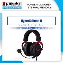 Kingston HyperX Cloud II Gaming Headset Hallo fi 7,1 Surround Sound Gaming Kopfhörer mit Mikrofon für PC & PS4