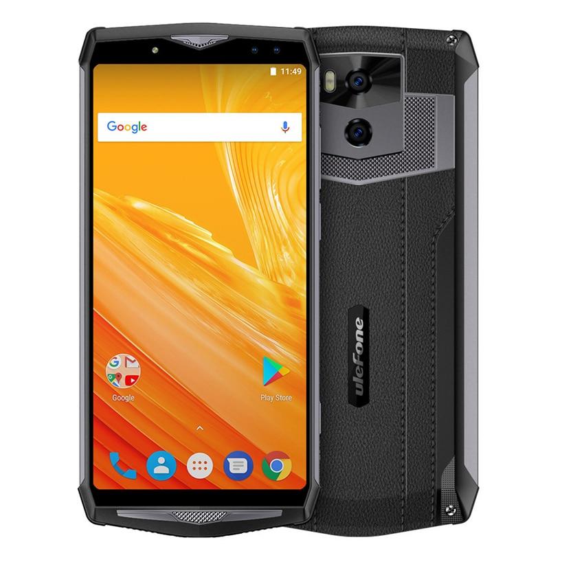 Ulefone Мощность 5 смартфон Octa Core Процессор Android 8,1 6 ГБ Оперативная память двойной IMEI 13000 мАч дропшиппинг