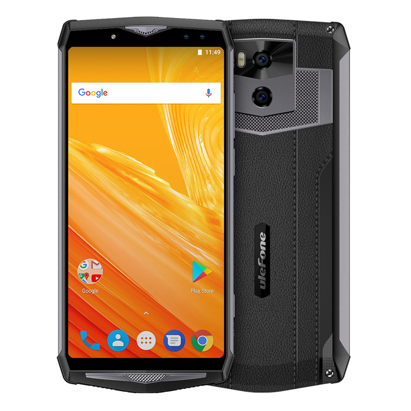 Ulefone Puissance 5 Smartphone Octa Core CPU Android 8.1 6 gb RAM Double IMEI 13000 mah Dropshipping