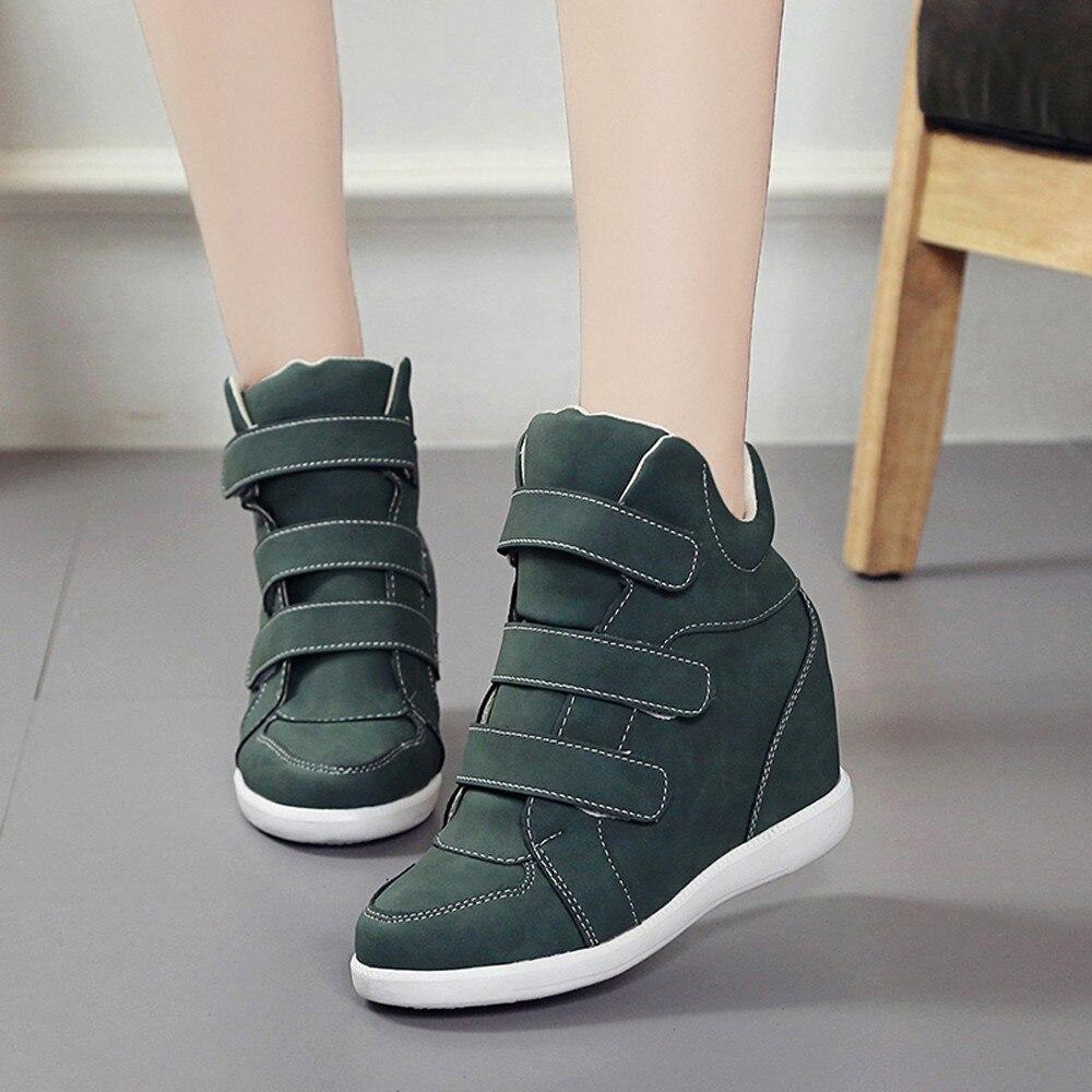 Chaussures Cuir Pour Rond Bottes En green Casual Mode Bout Femmes Sabot Coins Dropshipping Parti Vente coffee Chaude Du De Black wxnqzZX6C
