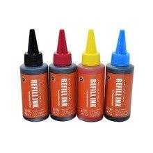 CK 400ML Colorful Universal Refill Ink Kit for Canon HP Brother Lexmark DELL Kodak Inkjet Printer CISS Cartridge Printer Ink