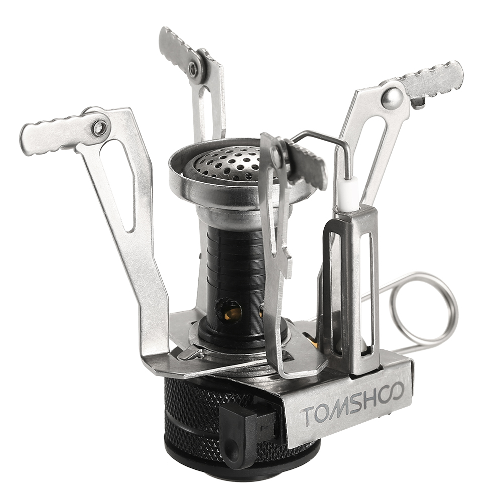 Tomshoo Mini Outdoor Folding Gas Stove Canister Stove