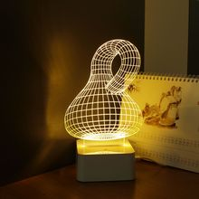 CNHIDEE Usb Bottle Light for KLEIN BOTTLE 3D Led Touch Table Lamp as Creative Gifts Night Light Lampara Infantil