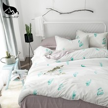 Dream NS King size Cactus Bedding Set For Nordic Simple Cover Pillowcase Warm Soft Home Bedroom Living Room Cover Set Bedclothes(China)
