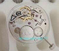 Parnis 17 bijoux mécanique 6498 à remontage manuel montre de Mouvements fit pour Hommes jx02a