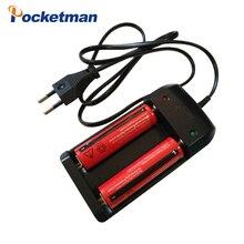2019 18650 14500 10440 carregador 3.7V 4.2V Recarregável Li ion Battery + UE/EUA Plug para Lanterna tocha 50