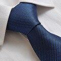 2015 Bowtie Corbata Activo Lycra Corbata A Cuadros de Los Nuevos Hombres de alta calidad caja de Regalo Lazo de Los Hombres de Negocios de Traje Y Corbata Novio Especial Para
