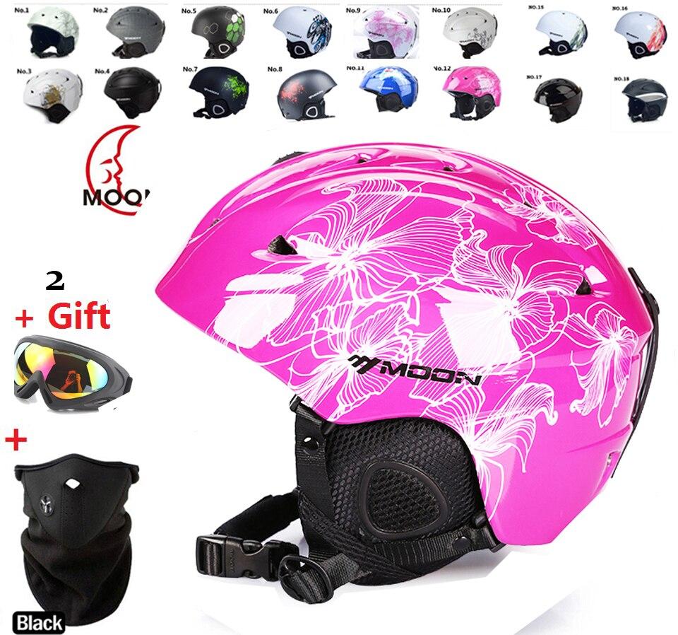 Prix pour Arrivent dans 18-39 jours!! ski casque d'hiver d'hiver sport casque Femmes ski flanchard équipement Sports de Neige saftly Casques