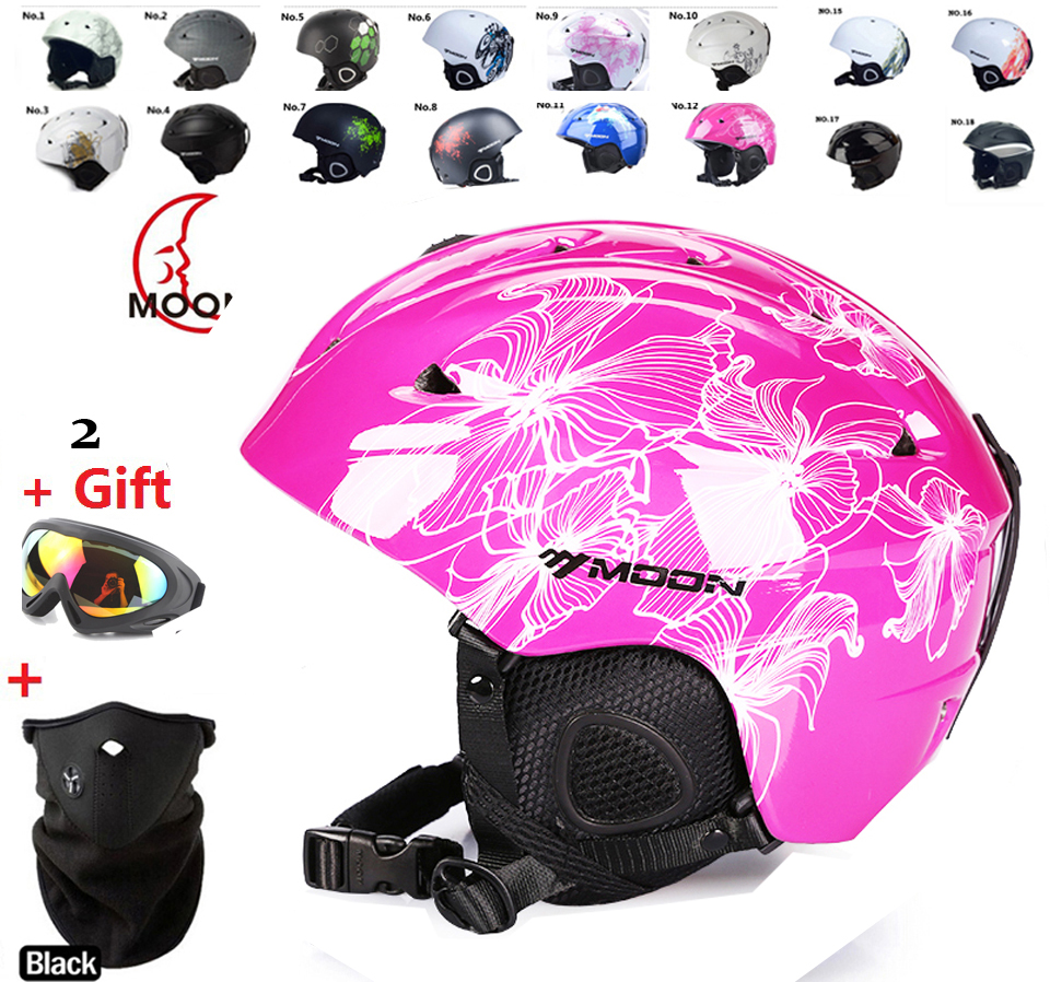 ФОТО arrive in 18-39 days!! skiing helmet winter   winter sport helmet  Women   skiing flanchard equipment Snow Sports saftly Helmets