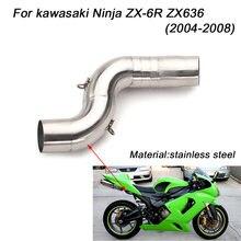 508 мм Средний Соединительный трубчатый глушитель для мотоцикла