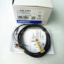 2PCS E2E X1C1 E2E X1B1 E2E CR8C1 E2E CR8B1 Omron Proximity Switch SENSOR ใหม่คุณภาพสูง