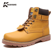 shoes timber boots botas freeshipping winter snow boots military ankle mens rubber rain chaussure homme genuine leather