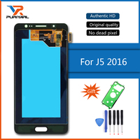 100 Super AMOLED LCD For SAMSUNG Galaxy J5 2016 LCD Display J510 J510F J510FN J510M Touch