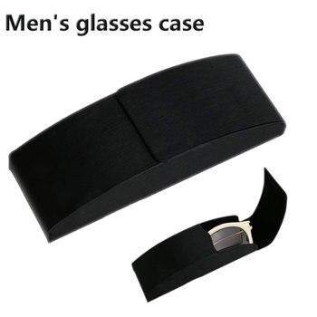 c72b0fbafb Caliente de gran tamaño gafas de sol de moda Venta caliente de los hombres  las mujeres portátiles gafas magnético caso de cuero de la PU de doble  capaz ...