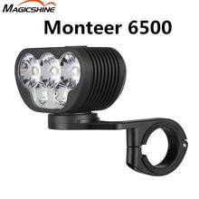 Amerikaanse Magicshine Monteer 6500 Downhill Cross Country Fiets Licht Combo Mtb Road Fietsen Koplamp Hoge Heldere 6500 Lumen