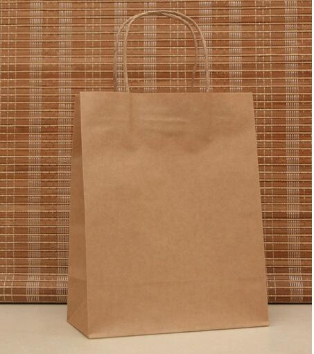 10PCS/lot 27x21x11cm Stationery Holder  DIY Multifunction Paper Bag With Handle Cloth Shopping Bag