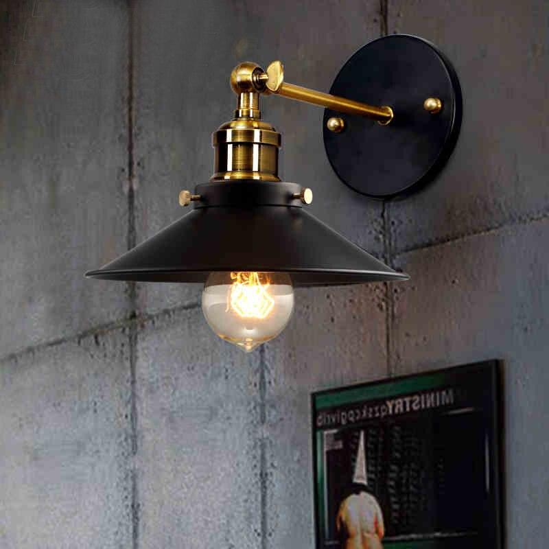 Industrial Wall Light Bedroom: ⃝LEDream Loft Retro ₪ Industrial Industrial Light