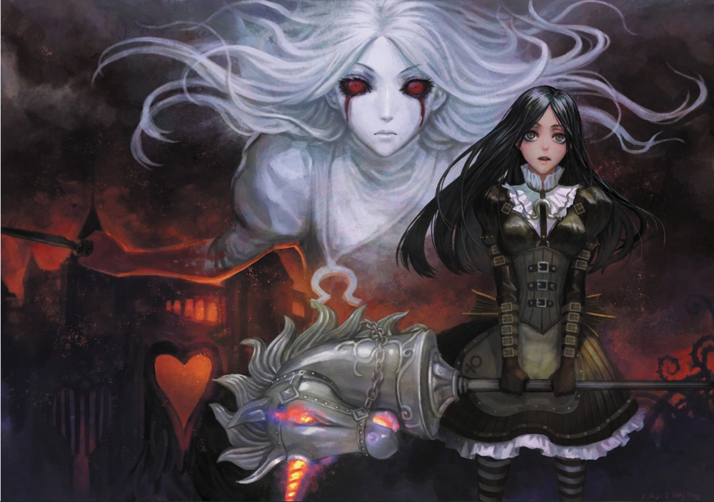 envo libre anime alice madness returns cartel hd home decor wall art print