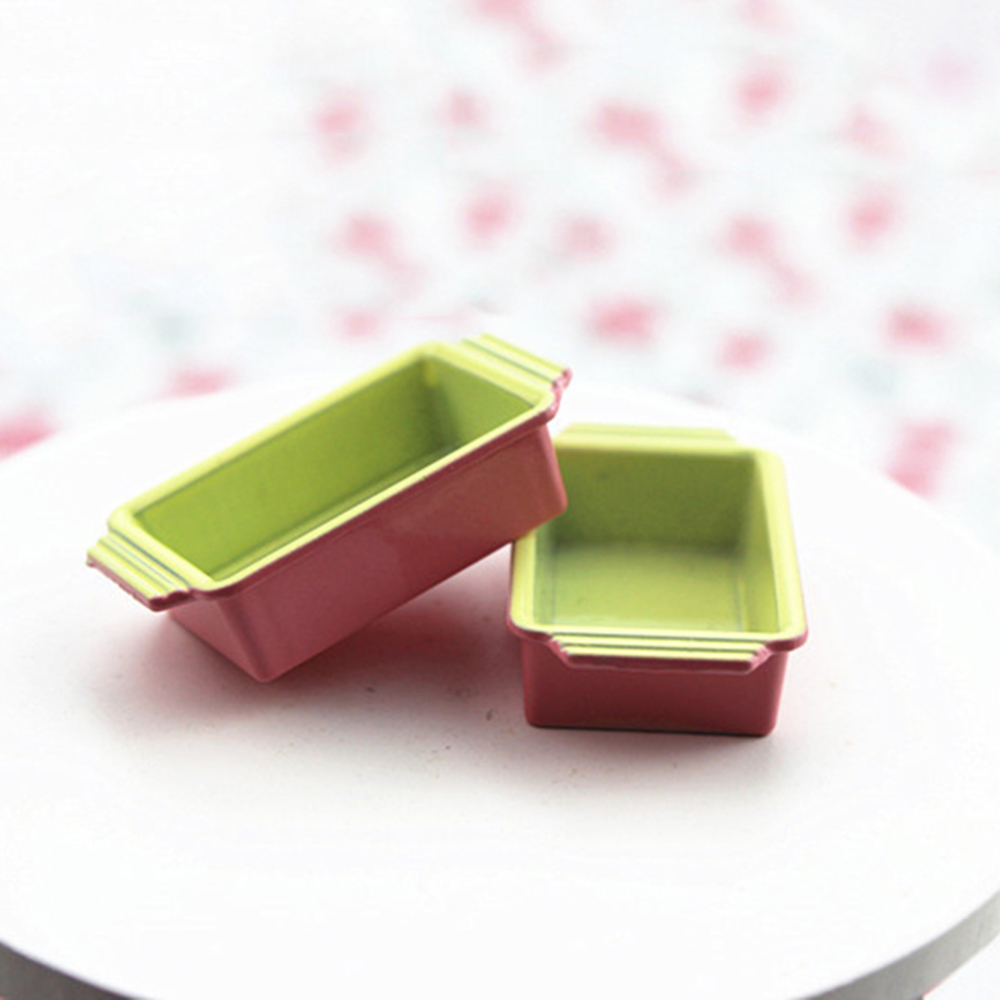 1Pcs 1/12 Dollhouse Miniature Accessories Mini Metal Lunch Box Simulation Furniture Model Toys For Doll House Decoration