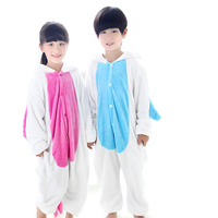 Girls Pyjamas Unicorn Panda Flannel Children Pijamas Animal Kigurumi Kids Winter Jumpsuit Pikachu Boys Pajamas Onesie