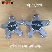 4 stks 135 MM 5 klauw VRS Embleem Logo Auto Auto wheel hub cap wiel center Cover
