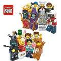 Enlighten 8 шт. Щелкунчик Заключенного Тедди Полиция Зомби Футболист Мороженое Девушка Мини Игрушки Совместимы С Lego
