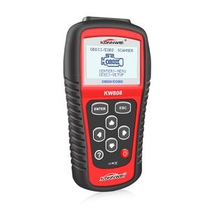 Image 3 - KONNWEI KW808 Xe Công Cụ Chẩn Đoán OBD2 Kích Hoạt động cơ phân tích Ô Tô Code Reader Scanner & New Phanh Chất Lỏng Chất Lỏng Tester