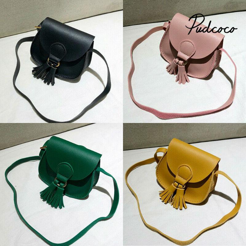 1pc Summer Kids PU Leather Bag Portable Kids Bag Children Sandpit Toys Adjustable Strap Simple Plain Backpack Pouch Bag