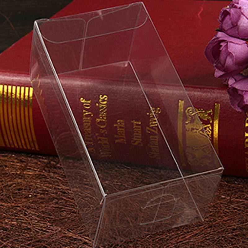 200 pcs 6x9x15 caixa de presente da jóia claro caixas de plástico caixa de armazenamento de Exibição caixa de embalagem de pvc transparente pvc boxen para qua/natal