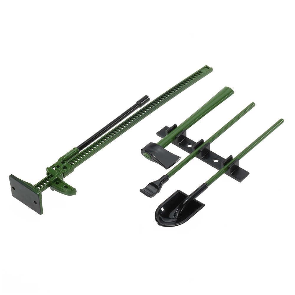 4Pcs Austar 10008A Rc Decoratie Gereedschap Set Kit Rc Accessoires Voor 1:10 Rc Rock Crawler Auto Onderdelen