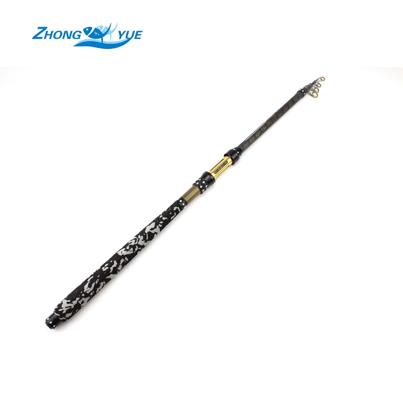 NEW High Quality 2.1M 2.4M 2.7M Portable Telescopic Fishing Rod Spinning Fish Hand Fishing Tackle Sea Rod Free shipping