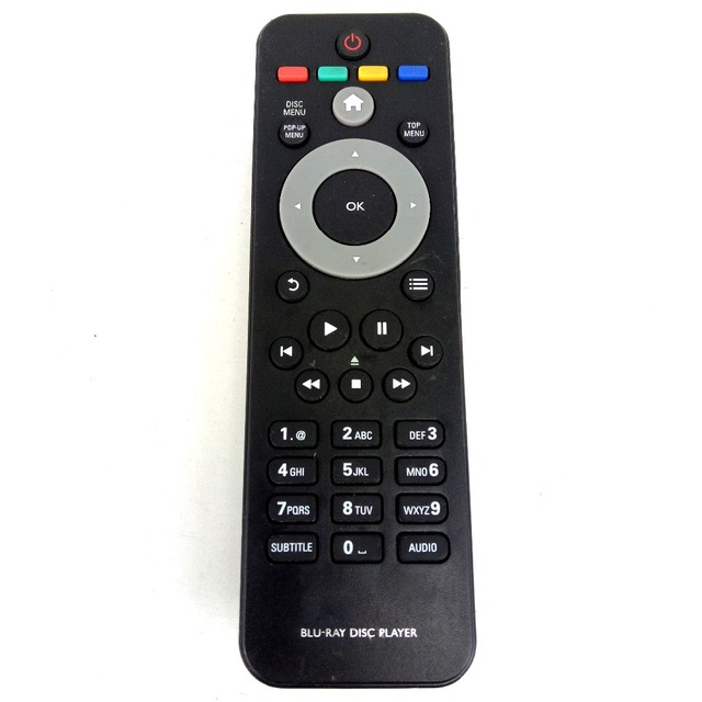 Новая замена для PHILIPS Blu Ray Remote Control RC 2802 BDP6000/12 для Blu Ray Player Fernbedienung