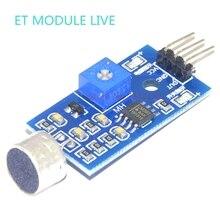 (1 pcs)Sound Detection Sensor Module Sound Sensor Intelligent Vehicle For Arduino Drop Shipping Wholesale