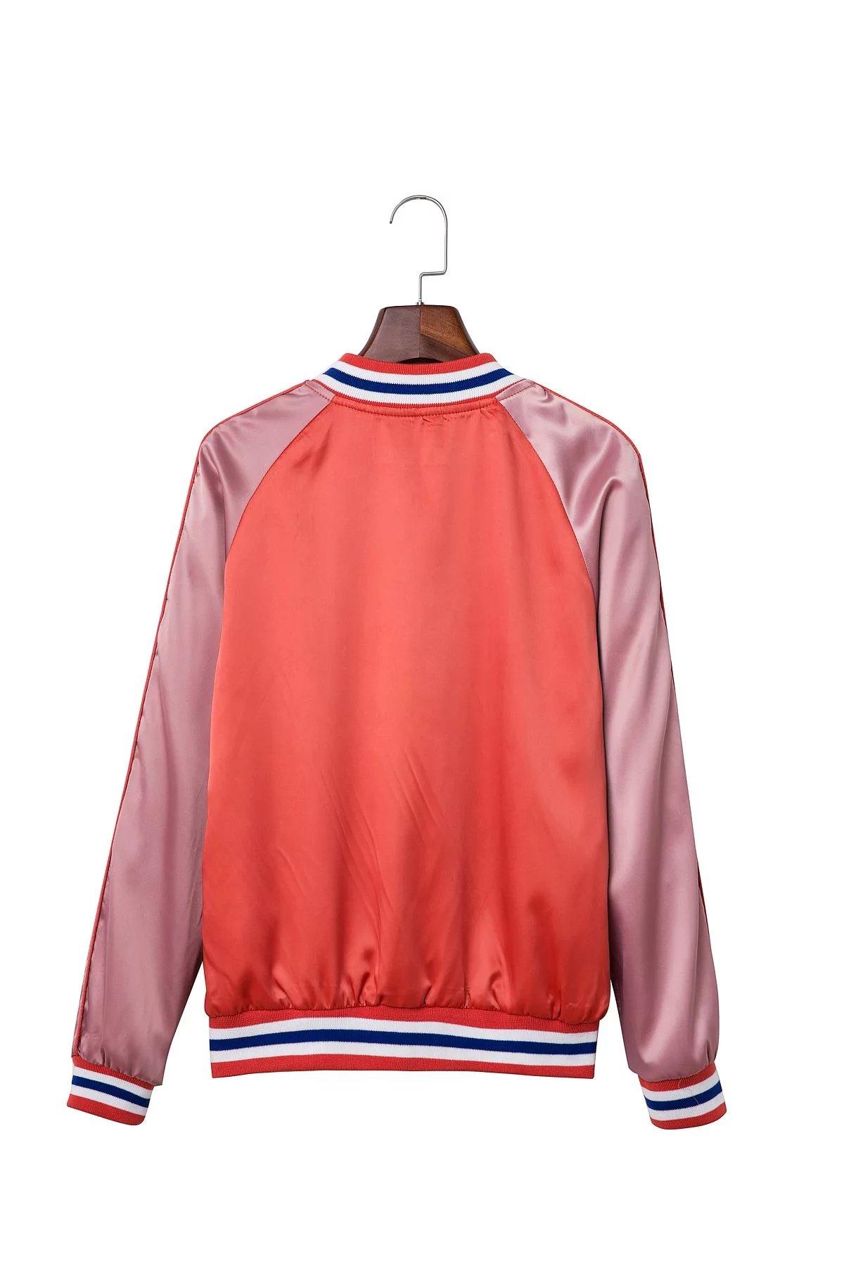 71 Knopf VOGUEN Mode Mantel Größe Sml in Farbe 12OFF Frauen Kontrast VOGUEN Satin Daunenjacke XS Frauen Bomber US16 Neuen Neuen Damen Damen f6gv7IYbym