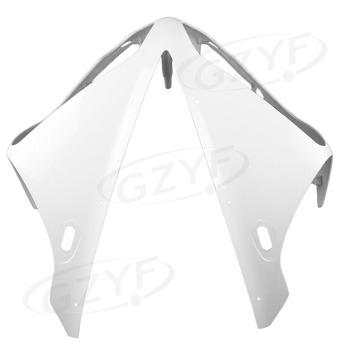 Upper Front Fairing Cowl Nose Fits for Yamaha 2004 2005 2006 YZF R1 Injection Mold ABS Plastic