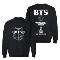 New Arrival BTS Hoodies And Sweatshirts Kpop BTS Sweatshirt Men Hoodie Pattern Printed Hip Hop Pullover