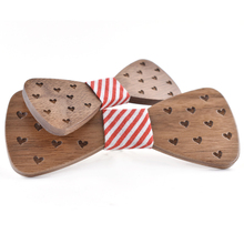 High Quality butterfly men Tie Bow 2017 Fun Personality Wooden Bow Ties Bowtie Butterflies Great Gift wholesale