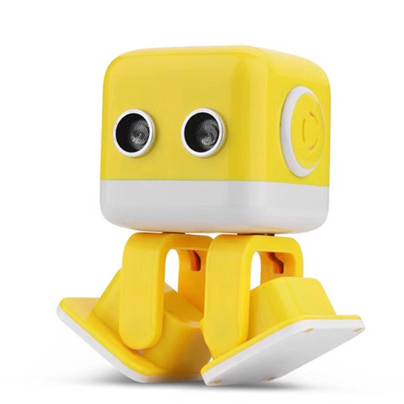 Oyuncaklar ve Hobi Ürünleri'ten RC Robotlar ve Hayvanlar'de Sıcak satış WL F9 APP/radyo kontrol akıllı akıllı dans rc robot Cubee Robot'da  Grup 1