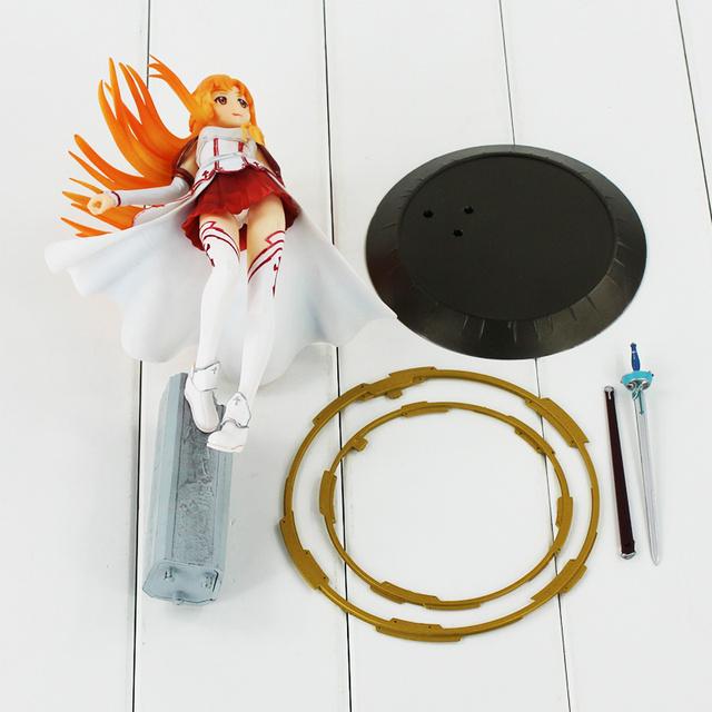 9″ 23Cm Sword Art Online Asuna Aincrad Action Figure