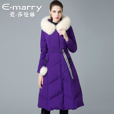 The new winter 2018 brand ladies fox collars 8841194 90 white duck   down     coats   women   coat