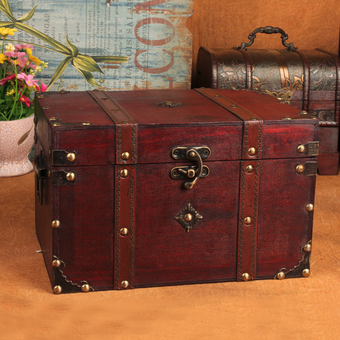 Exceptional Vintage Style Handmade Wooden Box Vintage Antique Wooden Storage Box  Organizadora Display Props In Storage Boxes U0026 Bins From Home U0026 Garden On  Aliexpress.com ...